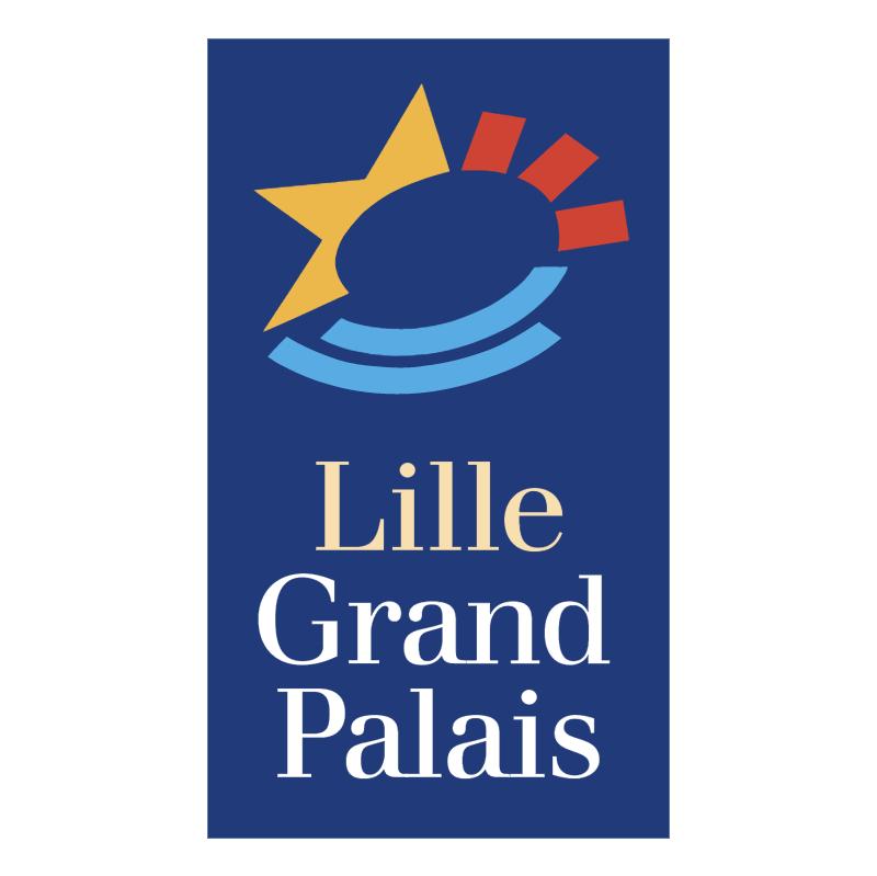 Lille Grand Palais vector