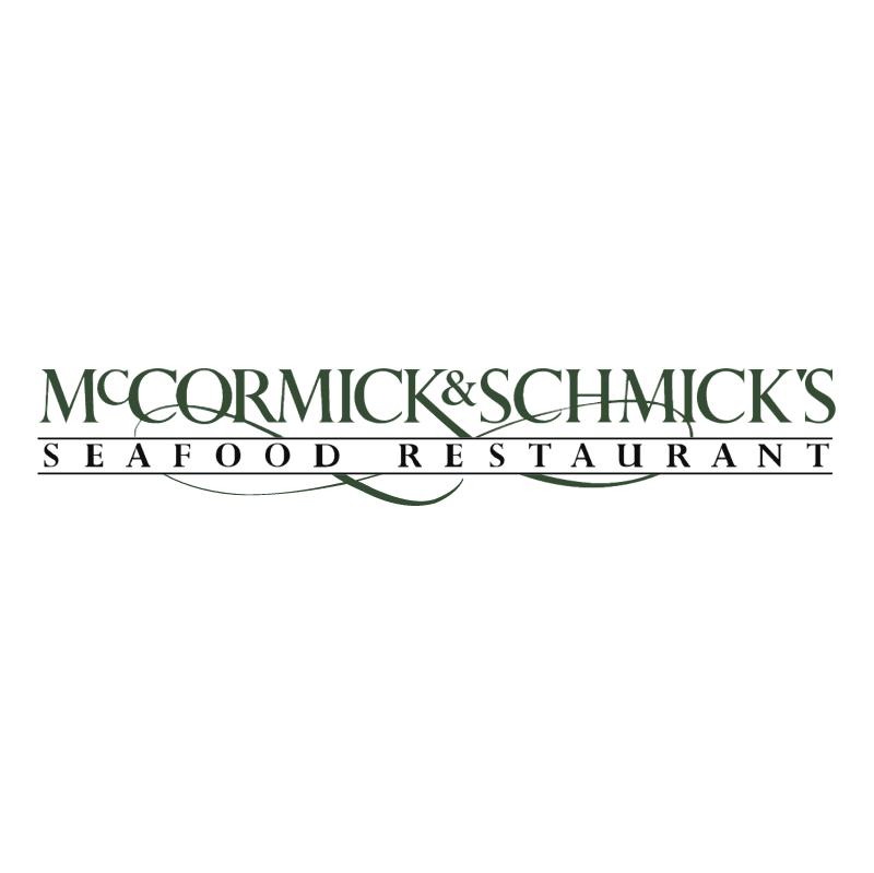 McCormick & Schmick's vector