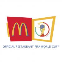 McDonald's Sponsor of 2002 FIFA World Cup vector