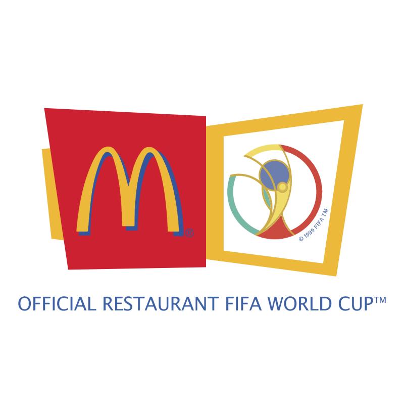 McDonald's Sponsor of 2002 FIFA World Cup vector logo