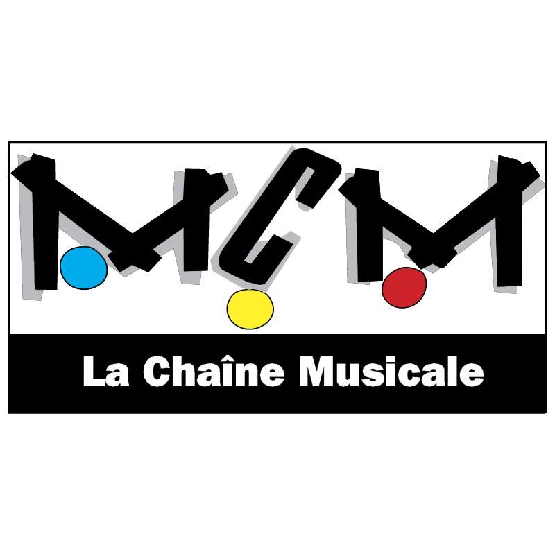 MCM TV vector