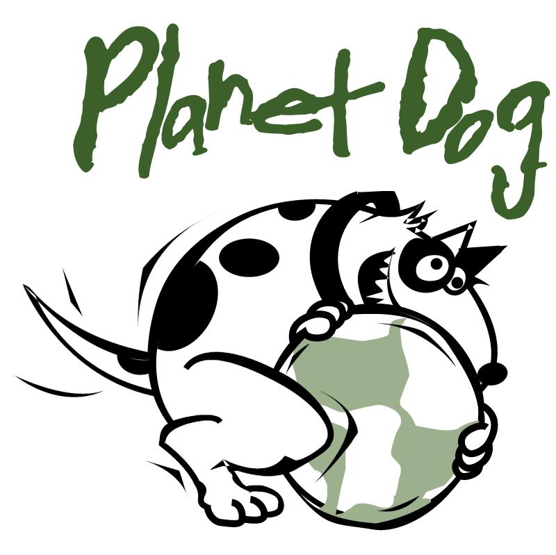 Planet Dog vector logo