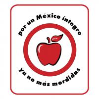 por un Mexico integro campania vector