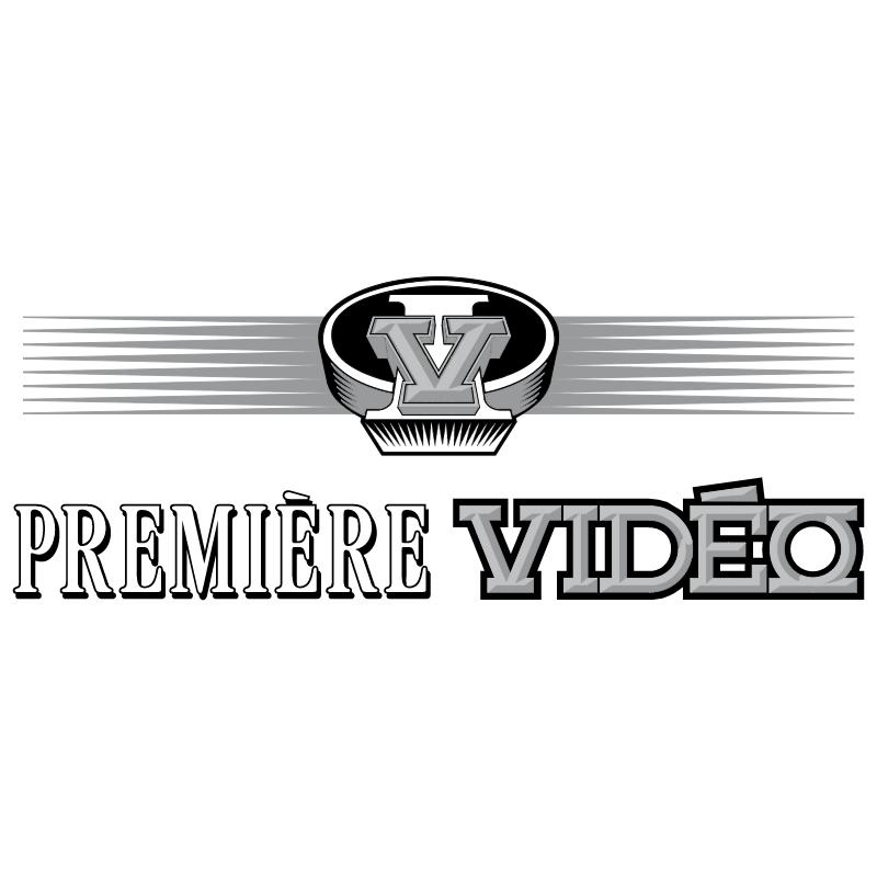 Premiere Video vector