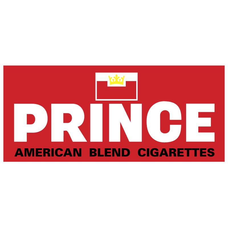 Prince Cigarettes vector