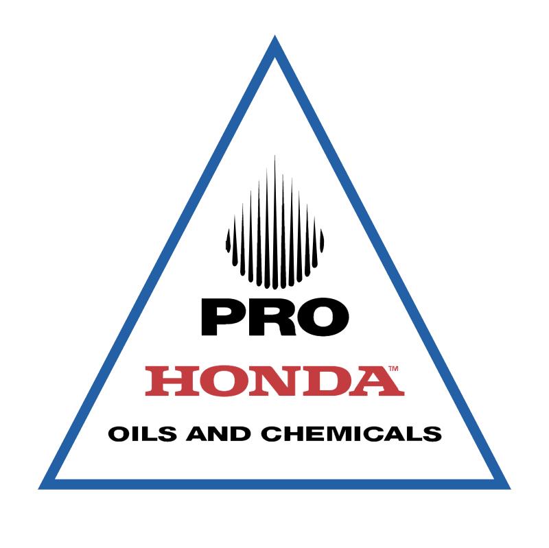 PRO Honda vector logo