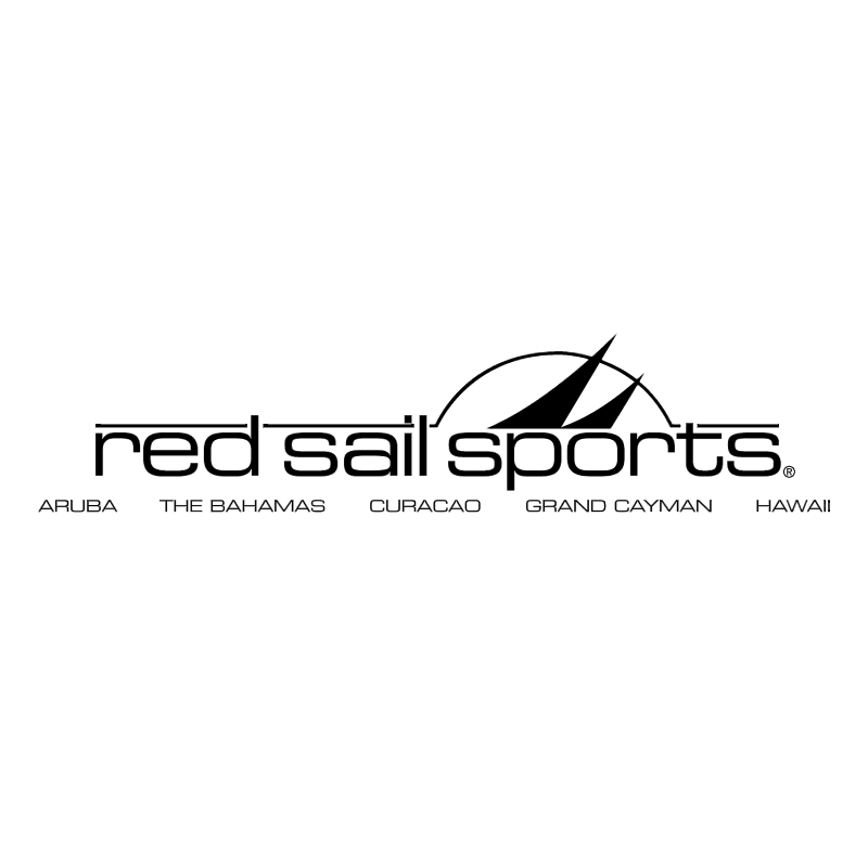 Red Sail Sports vector logo