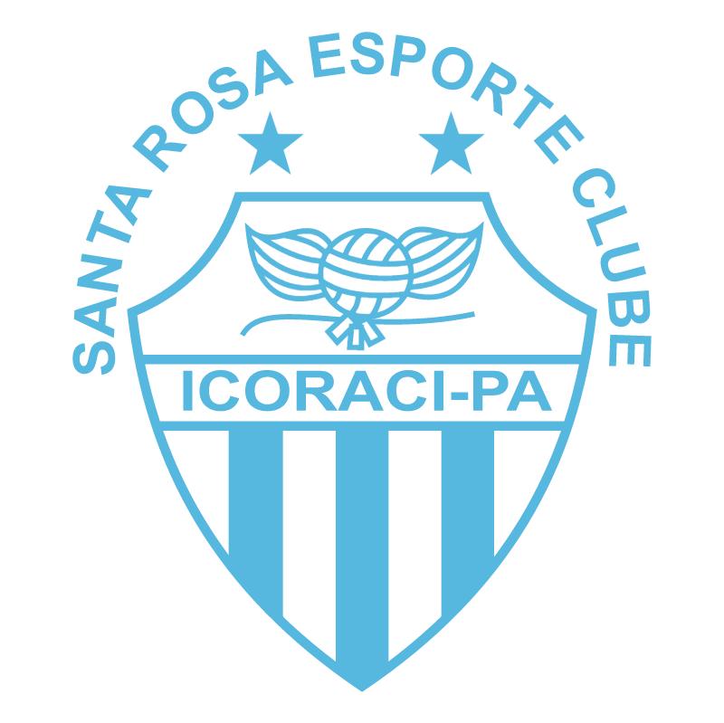Santa Rosa Esporte Clube de Icoraci PA vector