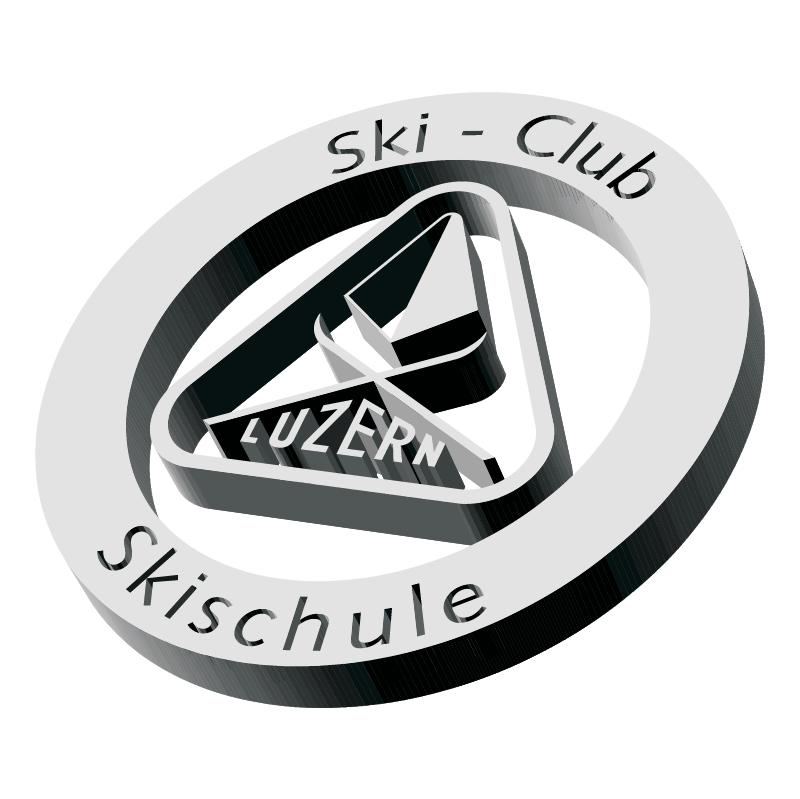 Skiclub Skischule Luzern vector