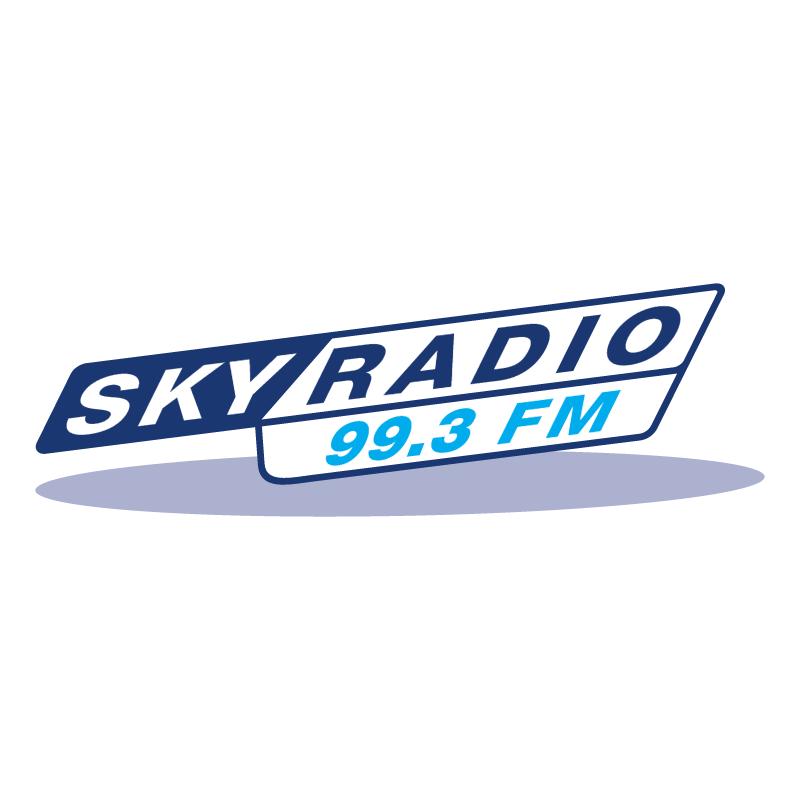 Sky Radio 99 3 FM vector