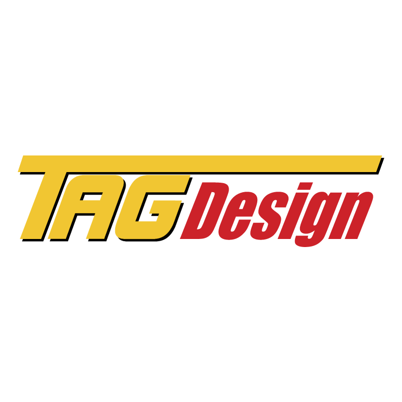 TAG Design vector logo