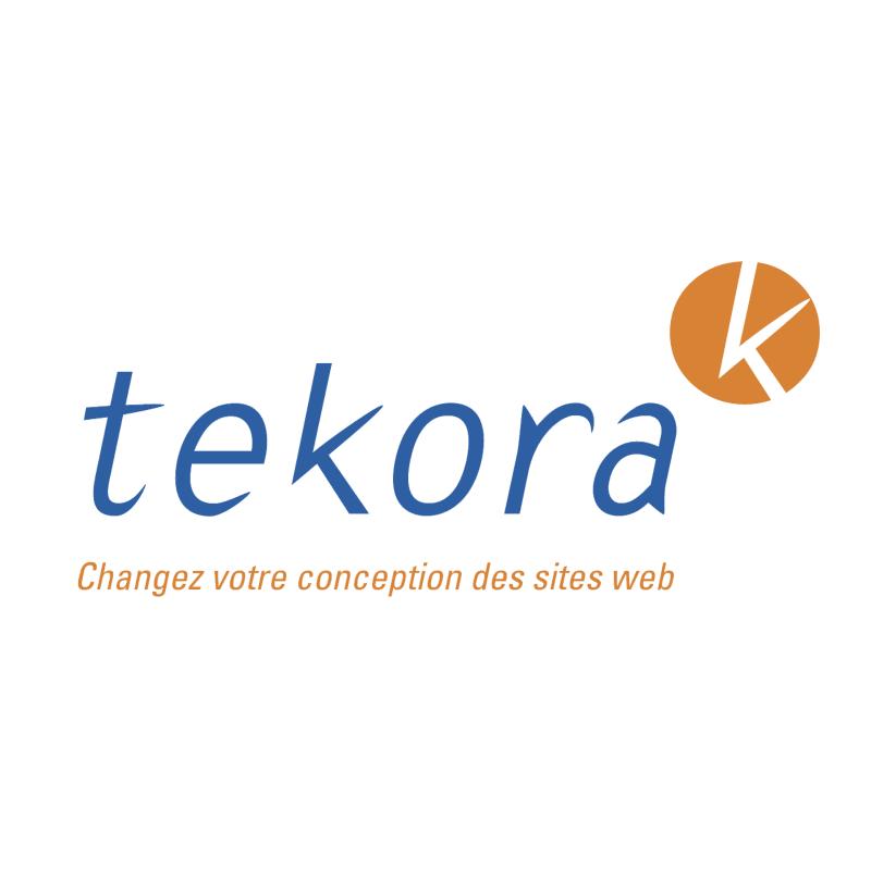 Tekora vector logo