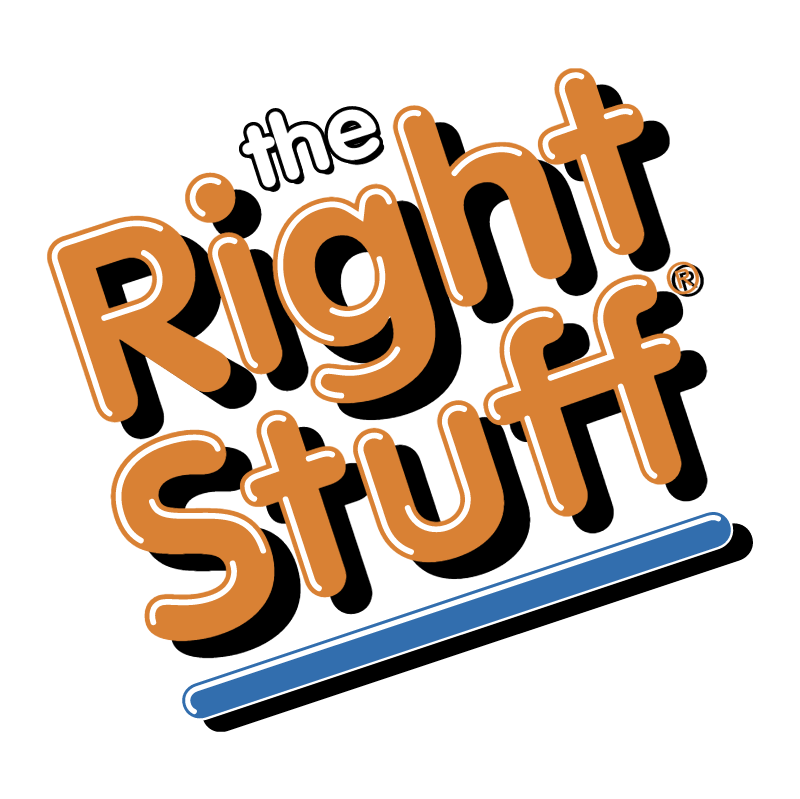 The Right Stuff vector