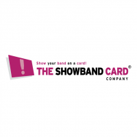 The Showband Card company vector