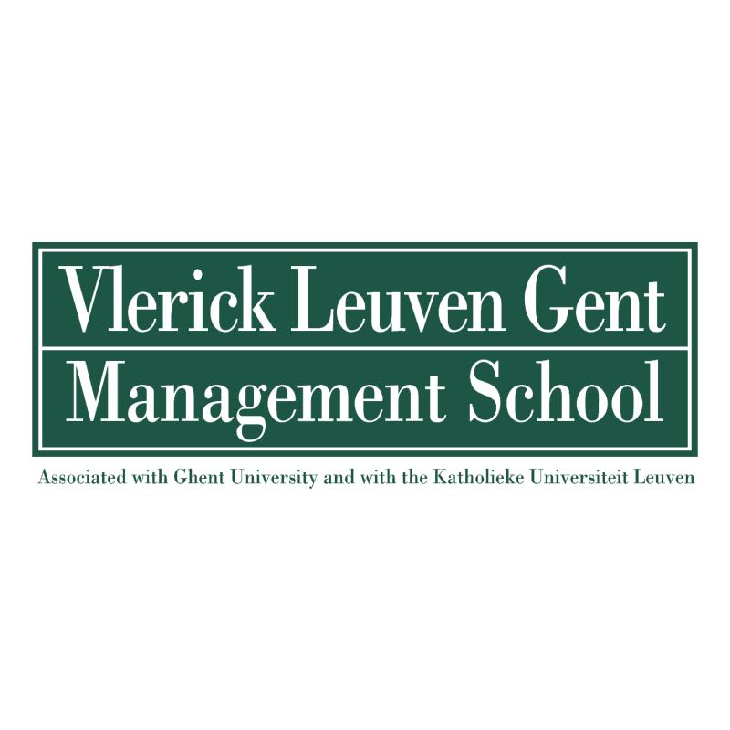 Vlerick Leuven Gent Management School vector logo