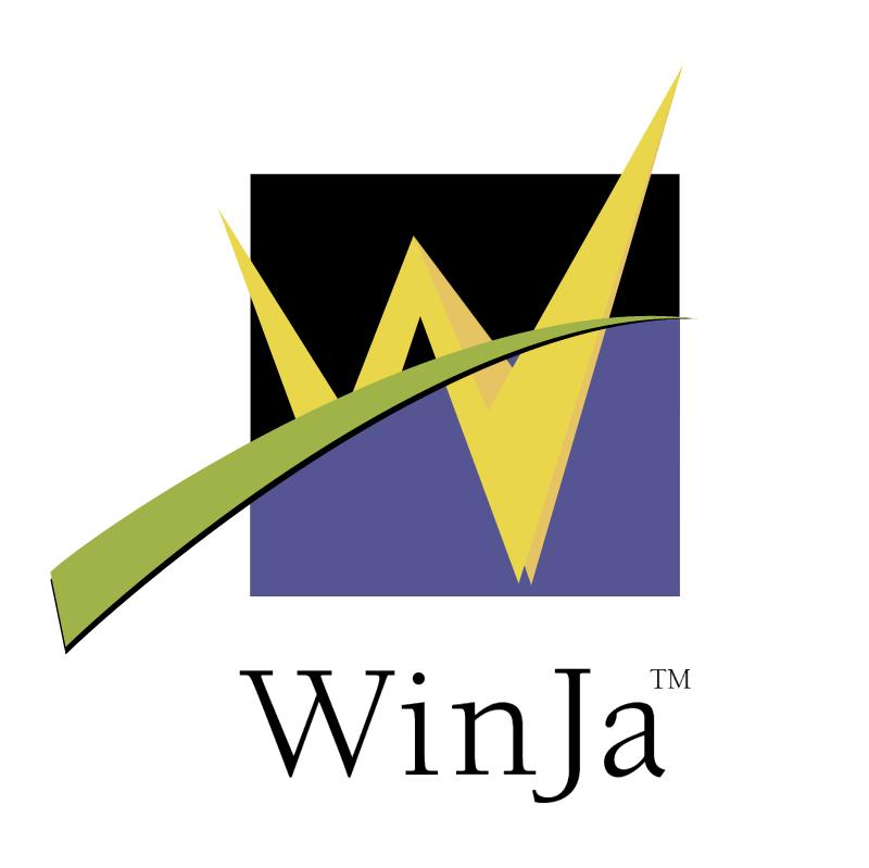 WinJa vector logo