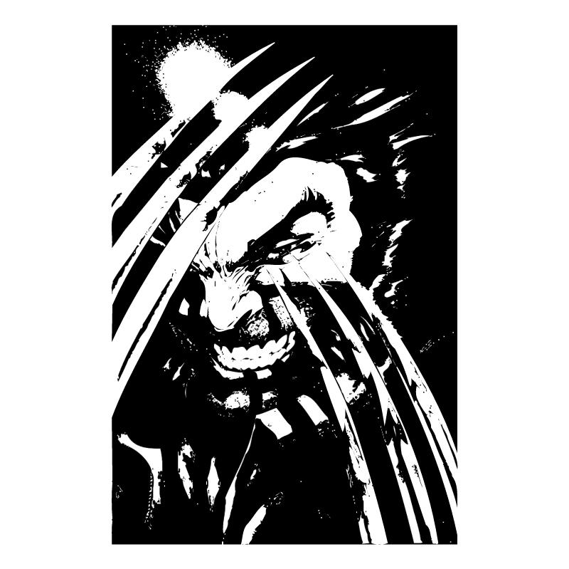 Wolverine vector logo