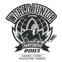 World Junior IIHF Championship 2003 vector