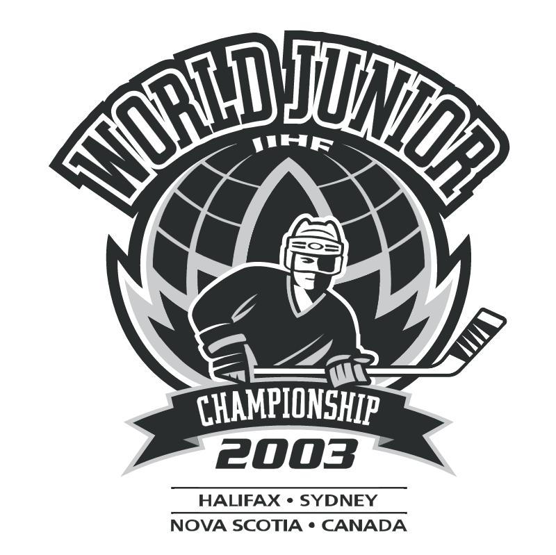 World Junior IIHF Championship 2003 vector logo