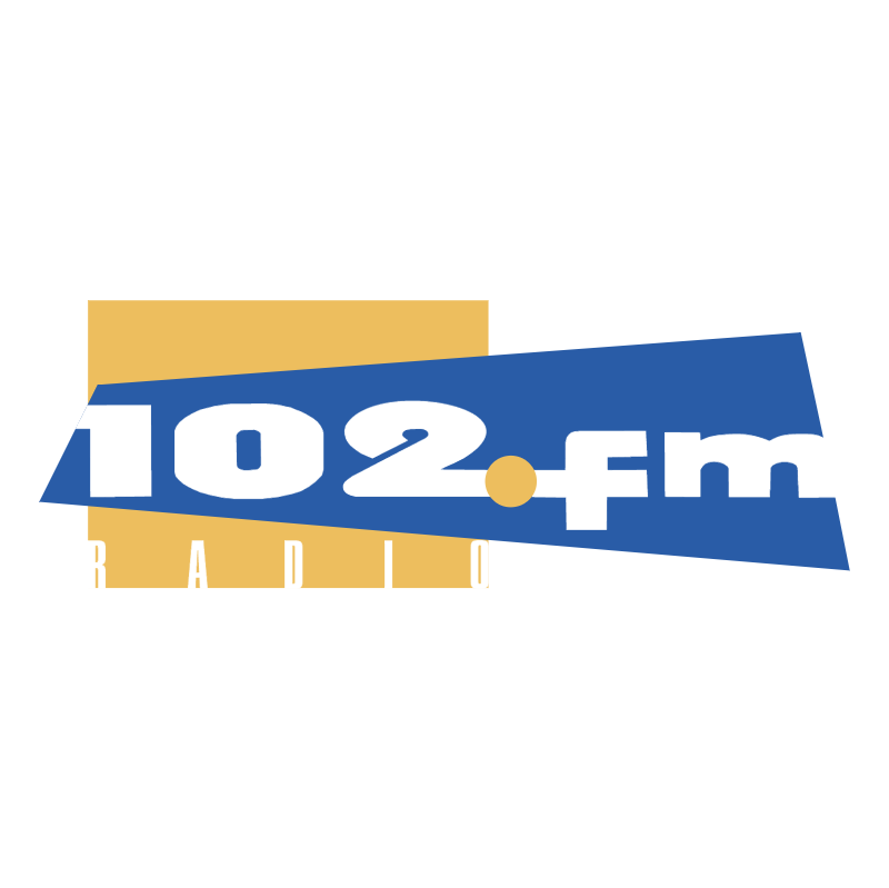 102 FM Radio vector