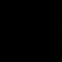 Frame double, IOS 7 interface symbol vector