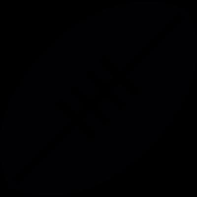 Rugby Ball vector logo