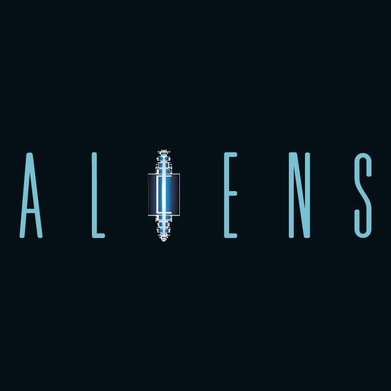 Aliens 83931 vector