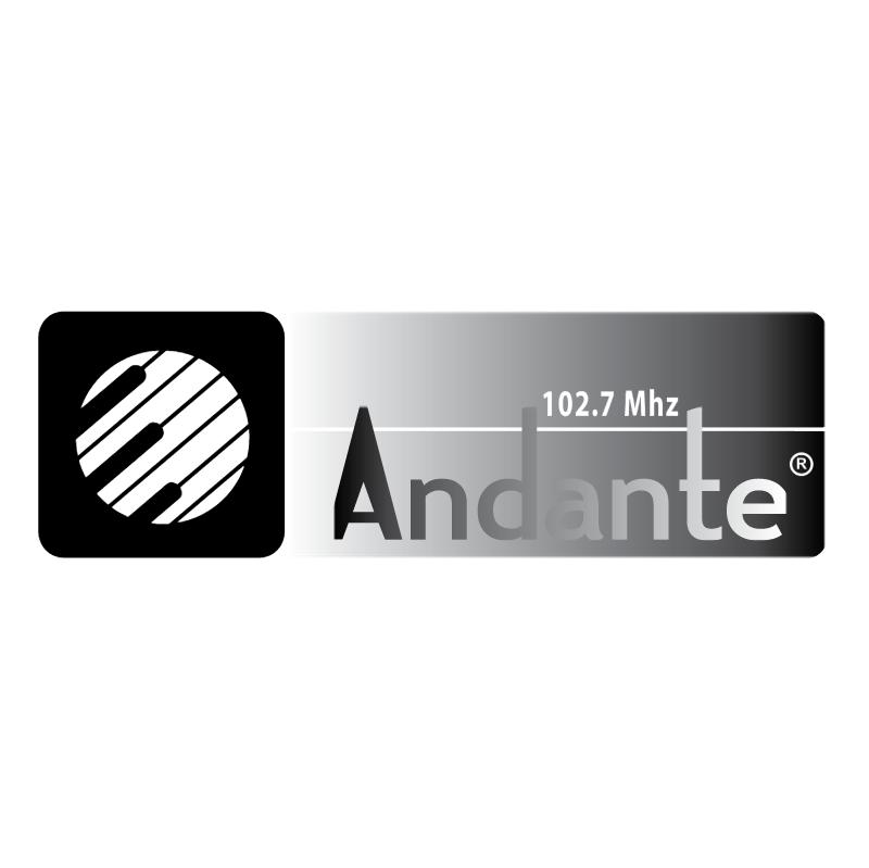 Andante Radio FM 76761 vector