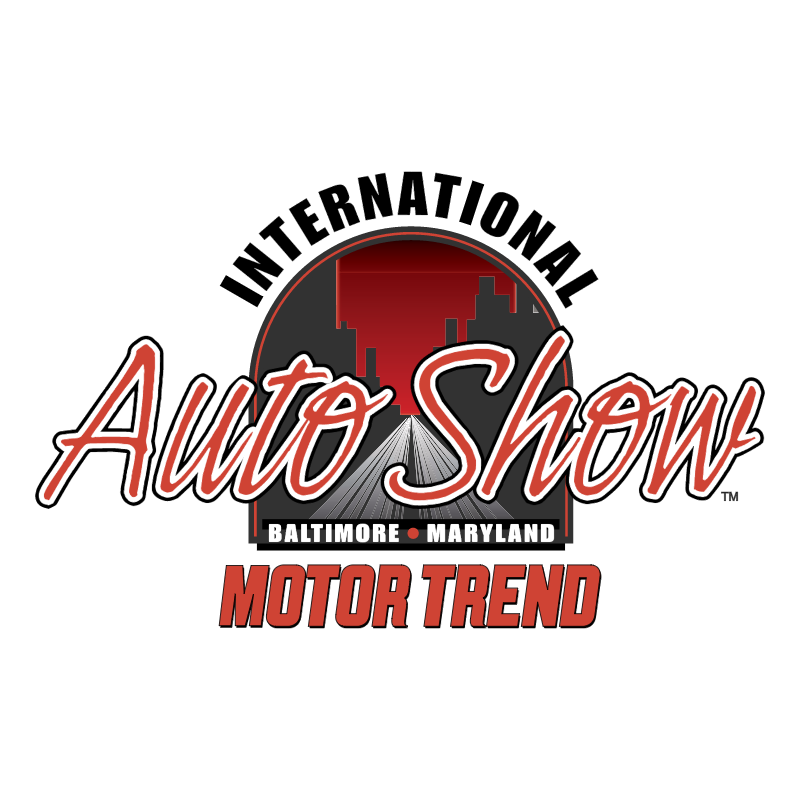 Baltimore Maryland International Auto Show vector