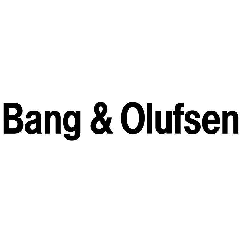 Bang Olufsen 819 vector