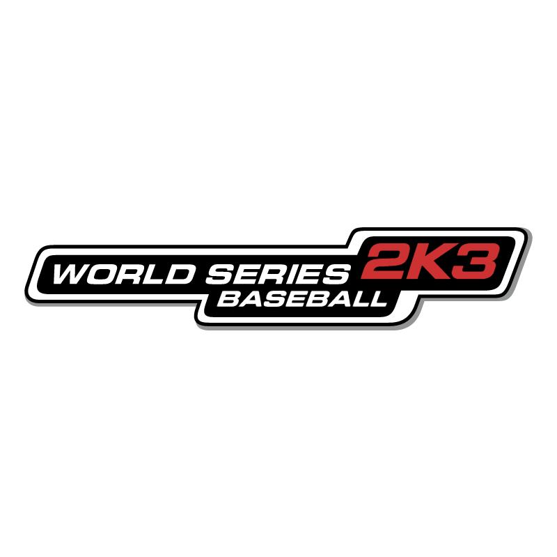 Baseball 2K3 World Series vector