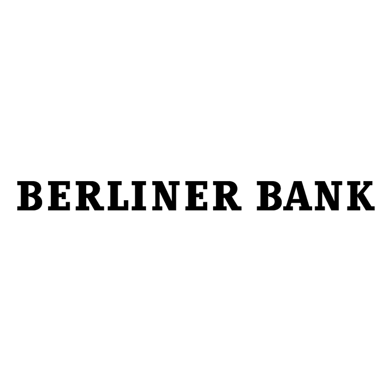 Berliner Bank 63490 vector