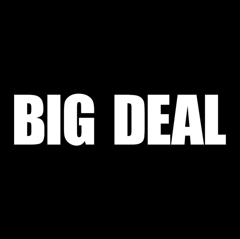 Big Deal 70542 vector