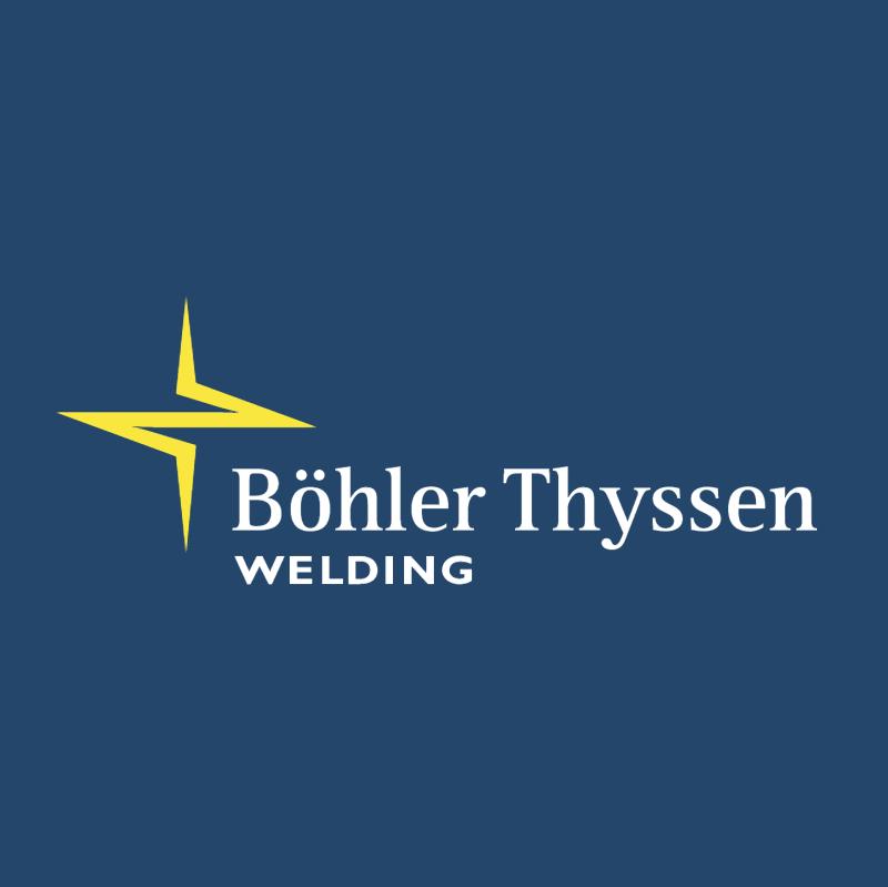 Boehler Thyssen Welding vector