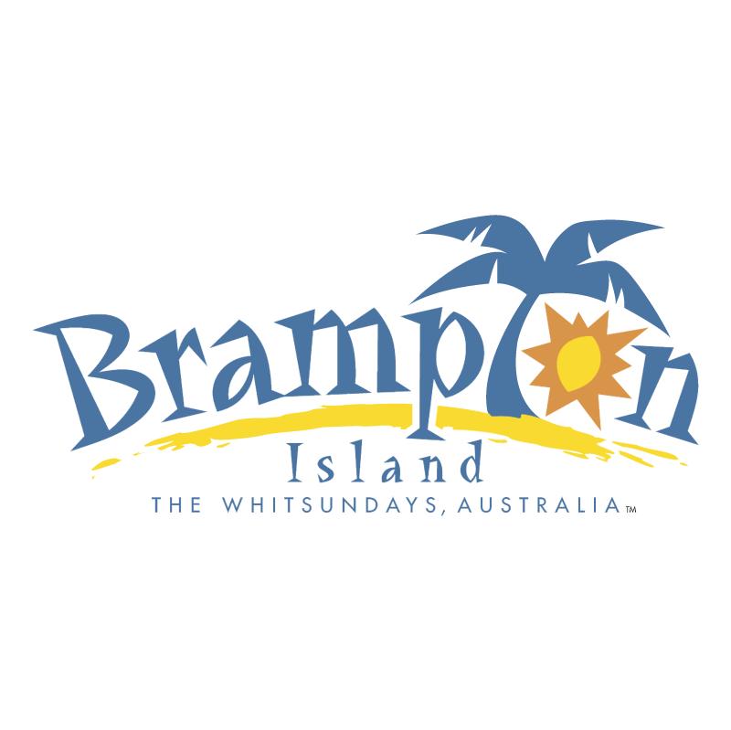 Brampton Island vector