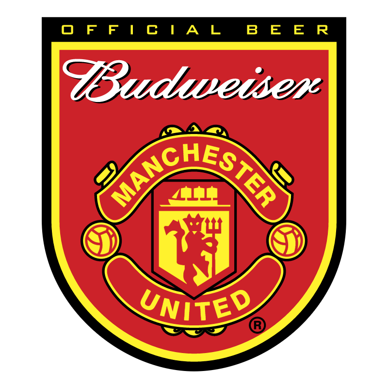 Budweiser Manchester United vector