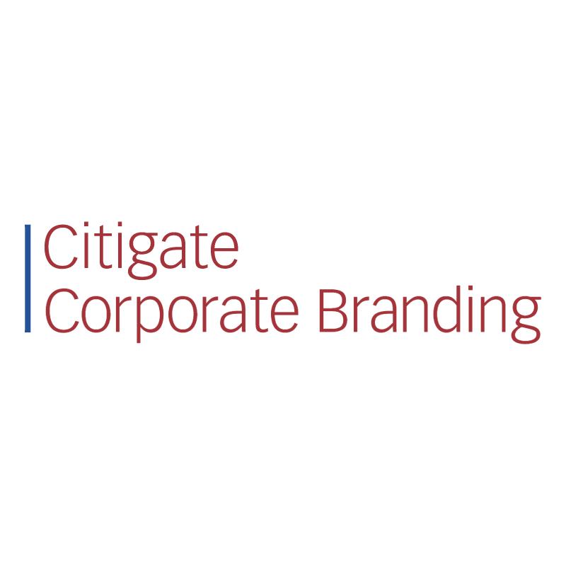 Citigate Corporate Branding vector logo