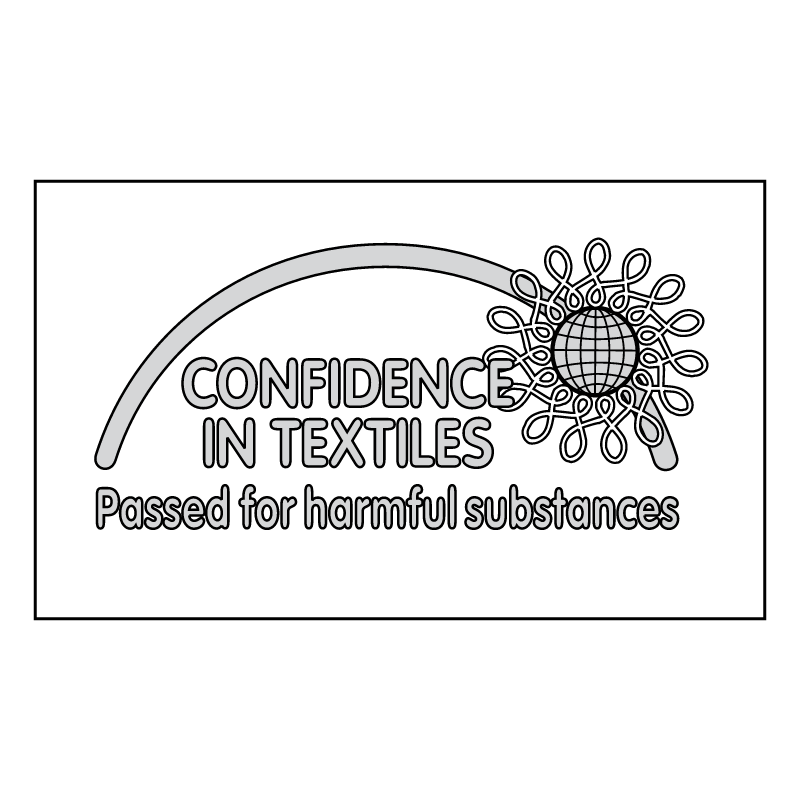 Confidence in Textiles vector