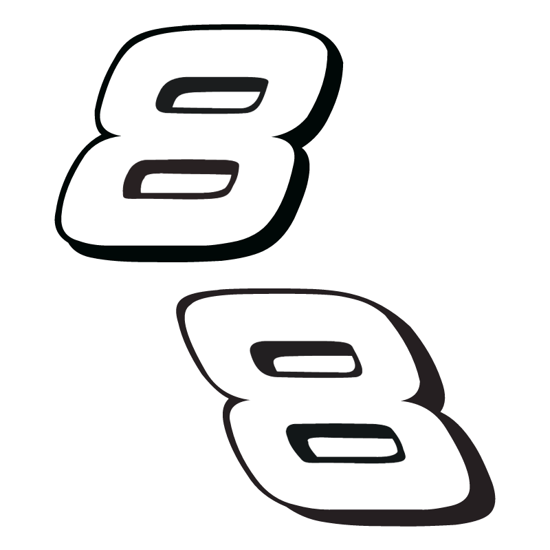 Dale Earnhardt Jr vector