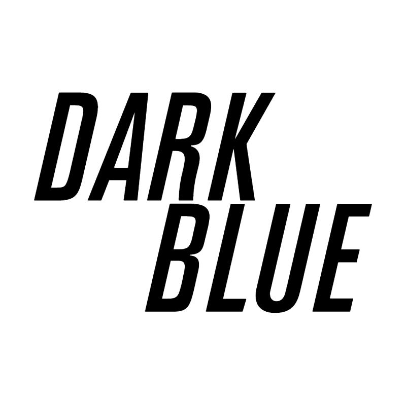 Dark Blue vector logo