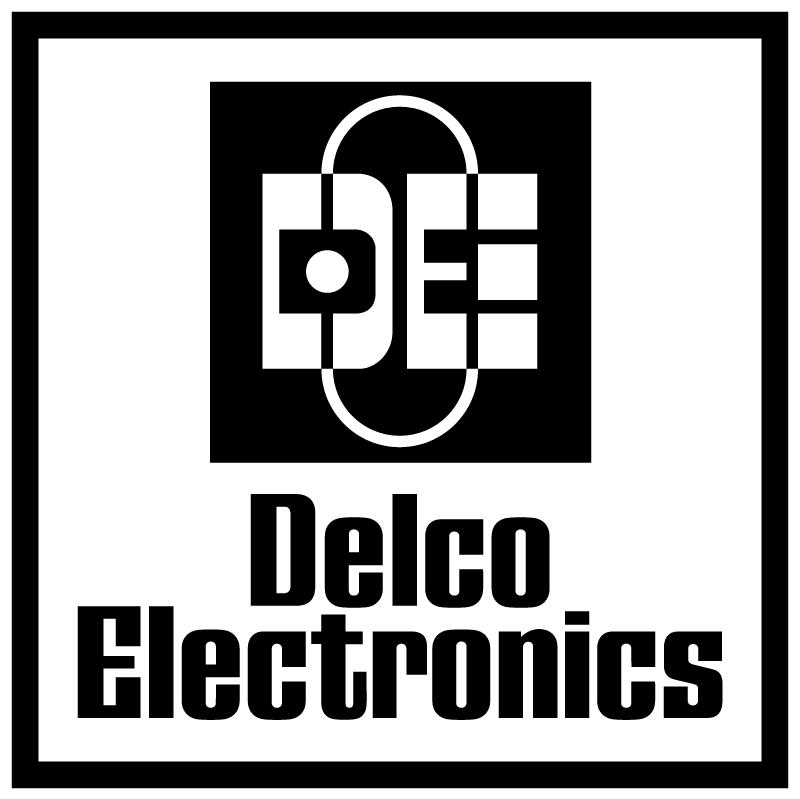 Delco Electronics vector logo