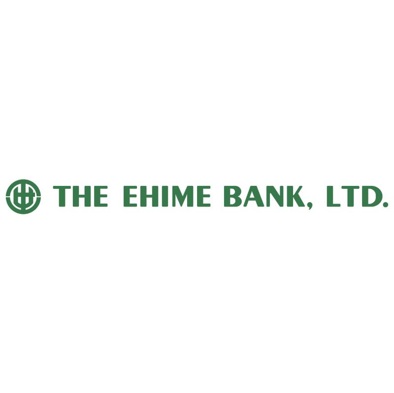 Ehime Bank vector