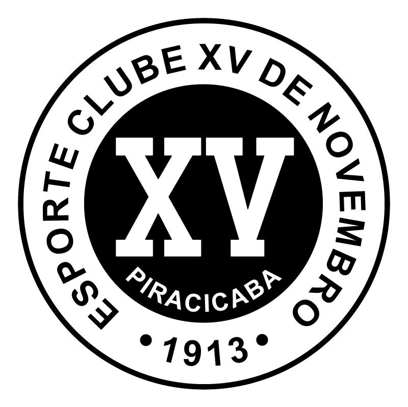 Esporte Clube XV de Novembro de Piracicaba SP vector
