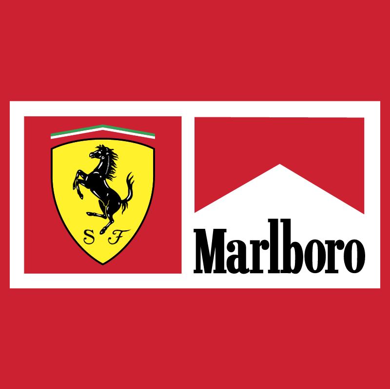 Ferrari Marlboro Team vector