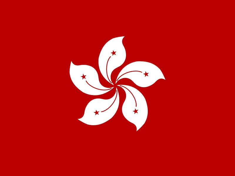 Flag of Hong Kong vector logo