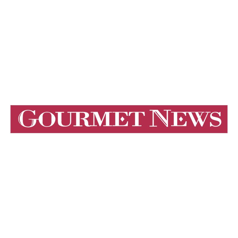 Gourmet News vector logo
