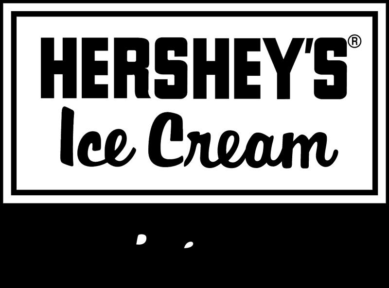 Hersheys Ice Cream vector logo