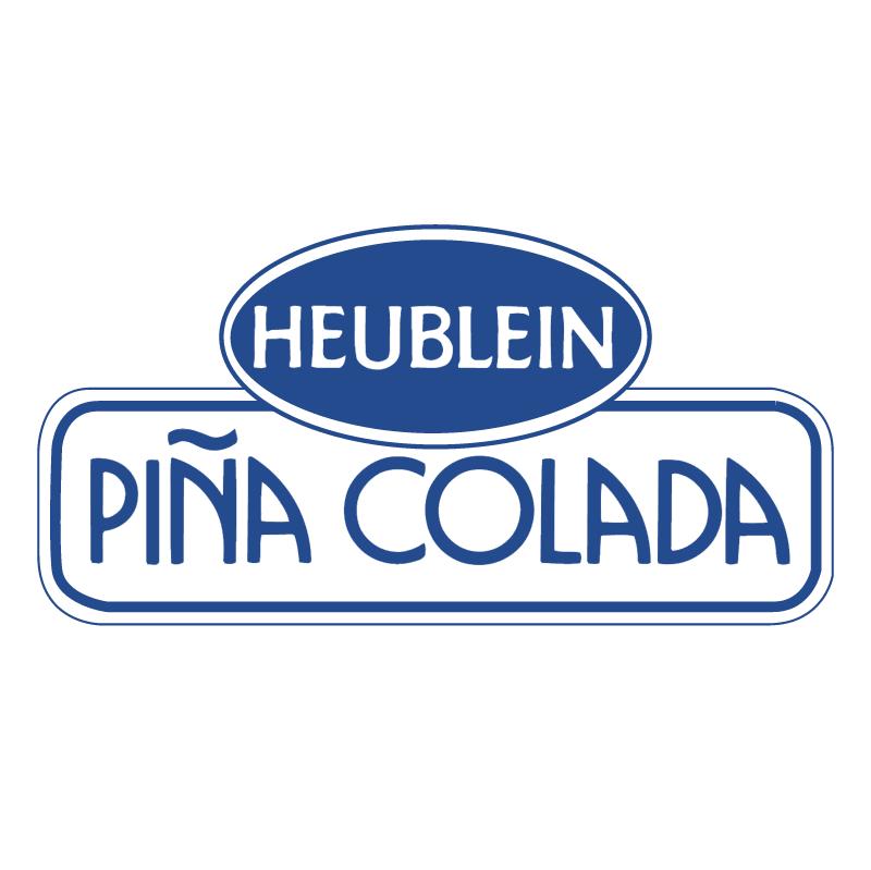 Heublein Pina Colada vector