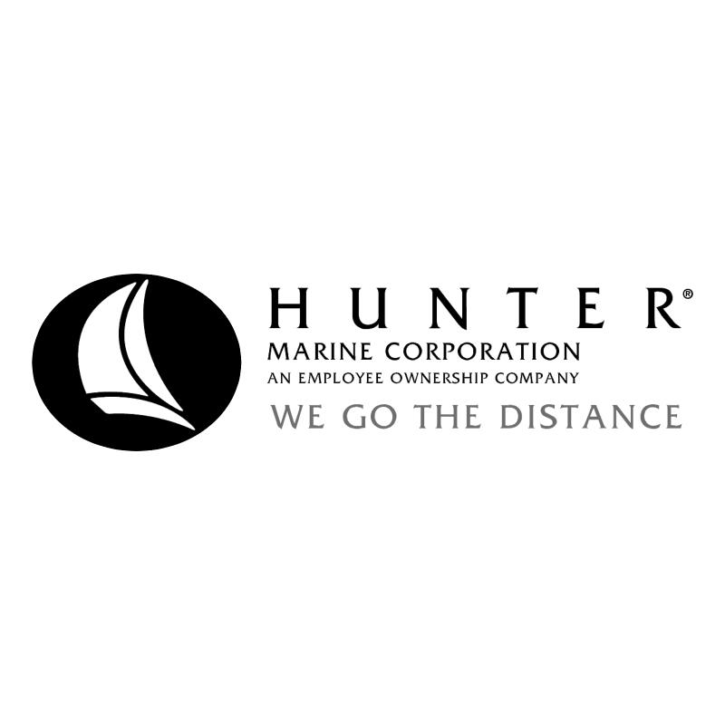 Hunter Marine vector logo
