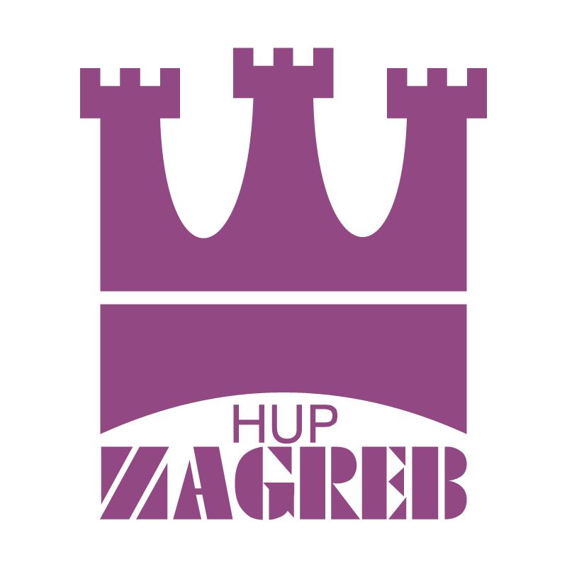 HUP Zagreb vector logo